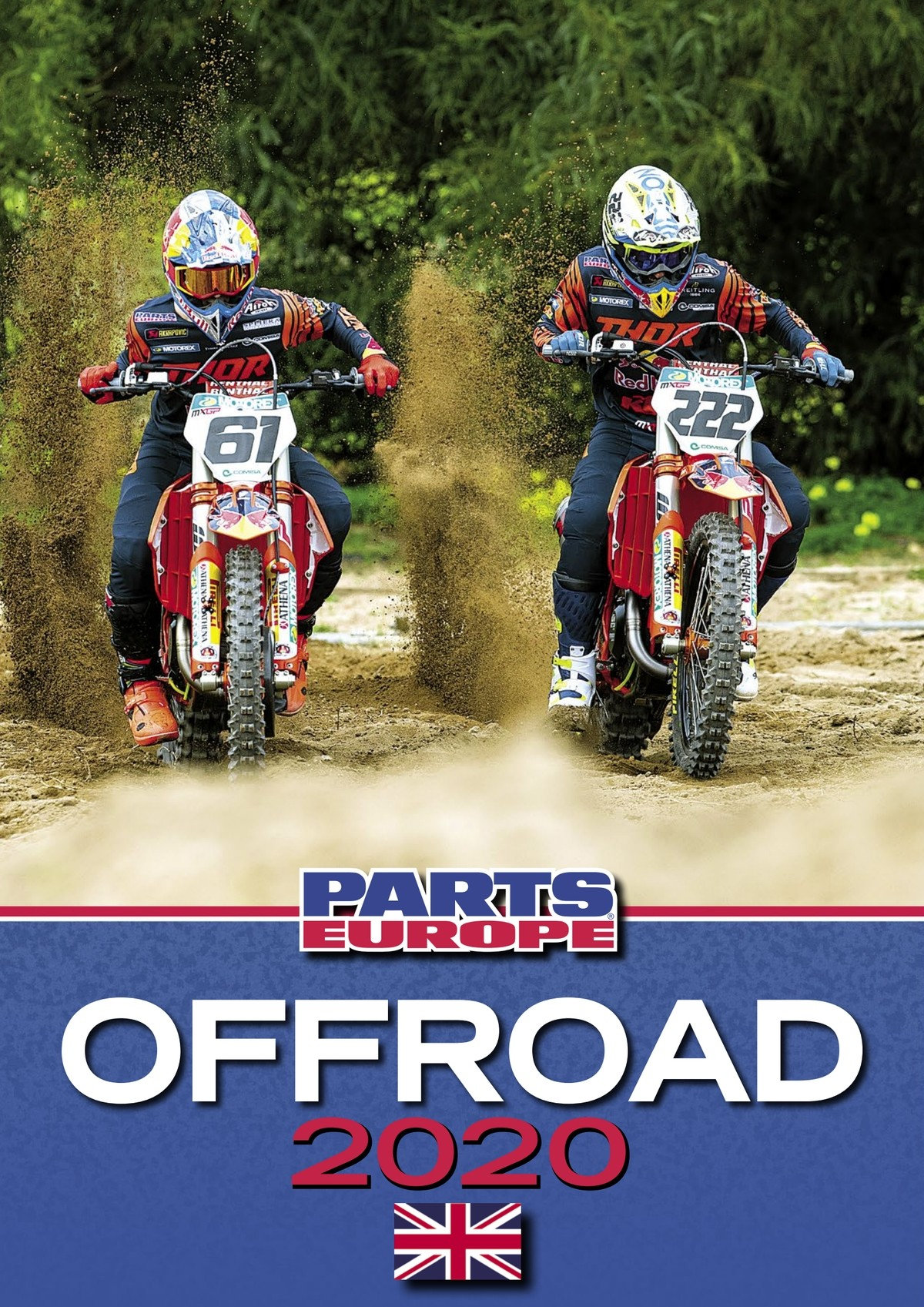 Catalog motociclete offroad Parts Europe 2020